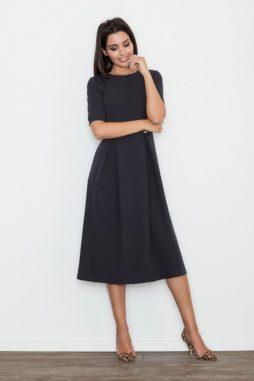 30c931f36063 Figl – Dámske spoločenské čierne šaty M553