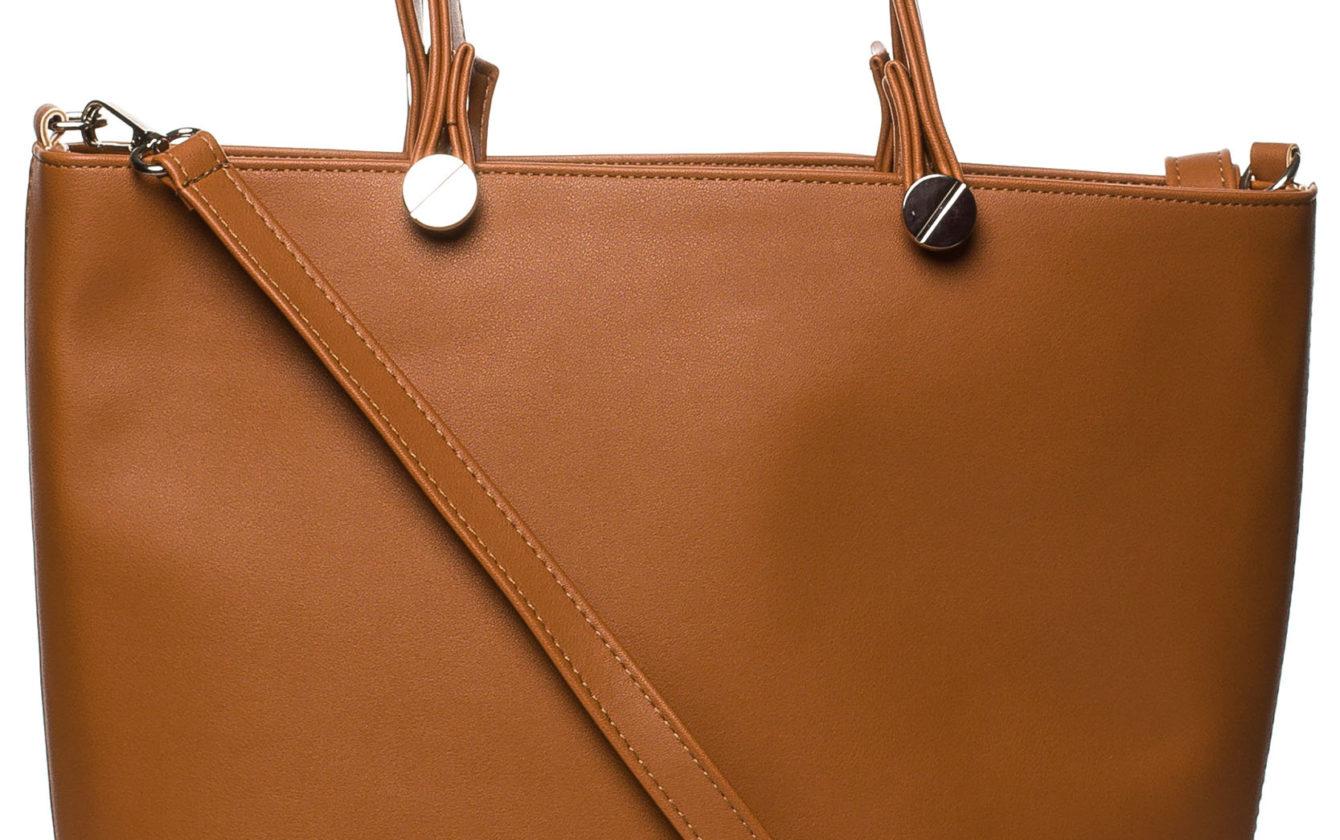 446251bbab Style Bags - Škoricovo hnedá nadčasová elegantná kabelka SB215