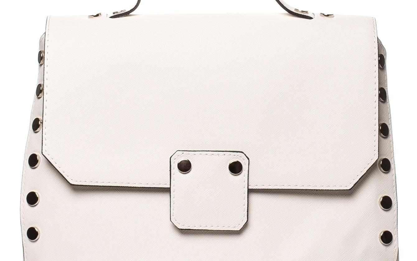 530b855ba4 Style Bags - Biela kabelka s uškom a vybíjaním SB417
